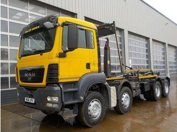 MAN TGS35.400 - ciężarówka hakowiec