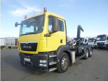 MAN TGS 26.400 - ciężarówka hakowiec