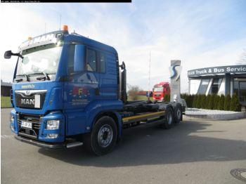 Ciężarówka hakowiec MAN TGS 26.500 6x2-4 BL Meiller RS21.70