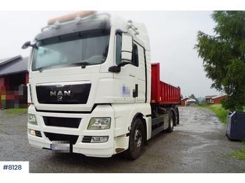 MAN TGS 26.540 - ciężarówka hakowiec