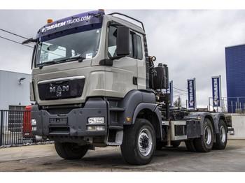 Ciężarówka hakowiec MAN TGS 33.400 BB - PM 8 TON/M