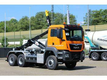 Ciężarówka hakowiec MAN TGS 33.430 6x4 / Abrollkipper Hyva