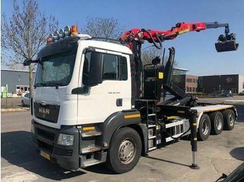 MAN TGS 35.440 EEV + PALFINGER Q200Z95TR 2016  - ciężarówka hakowiec