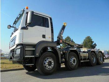 MAN TGS 41.430 8x4 / Hyva Lift Typ: Titan  - ciężarówka hakowiec