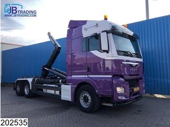 MAN TGX 28 440 6x2, EURO 6, Airco, Hiab Hooklift - ciężarówka hakowiec