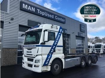 """MAN TGX 35.480 8X4-4 BL """"HIAB Multilift"""" - ciężarówka hakowiec"""