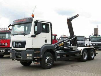 MAN TG-S 26.440 6x6H Abrollkipper Pritarder  - ciężarówka hakowiec