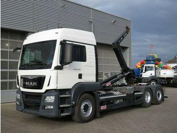 Ciężarówka hakowiec MAN TG-S 26.440 BL 6x2 Abrollkipper Lift+Lenkachse