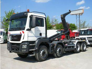 MAN TG-S 35.440 8x4 BB Abrollkipper Meiller 30 to, F  - ciężarówka hakowiec