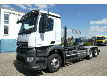 Mercedes-Benz 2645 AROCS BL/6x4 + Meiller RS 21-70  - ciężarówka hakowiec