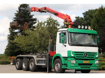 Ciężarówka hakowiec Mercedes-Benz ACTROS 3536 !!KRAAN/HAAK!!EURO5!!