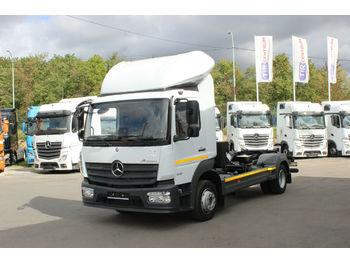 Ciężarówka hakowiec Mercedes-Benz ATEGO 1218,NEW BODY CHARVÁT CTS OKŘÍNEK, EURO 6