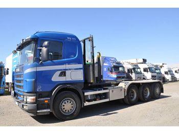 SCANIA 124 470 - ciężarówka hakowiec
