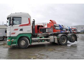 SCANIA R480LB6X2*4HNA - ciężarówka hakowiec