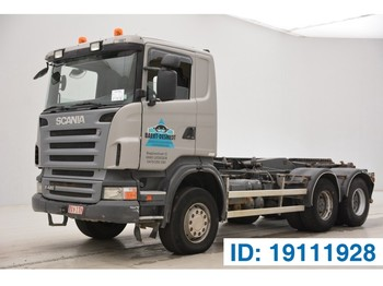 Ciężarówka hakowiec Scania R420 - 6x4