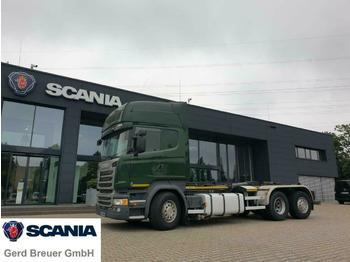Scania R450LB6X2*4 HNA Abrollkipper Marrel Topline  - ciężarówka hakowiec