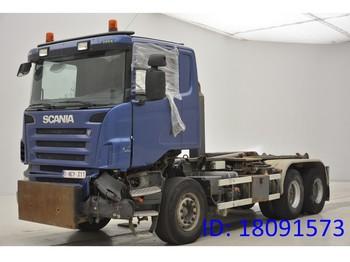 Ciężarówka hakowiec Scania R480 - 6x4