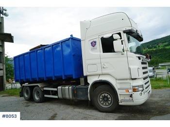 Scania R500 - ciężarówka hakowiec