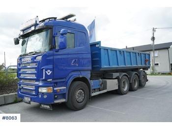 Scania R560 - ciężarówka hakowiec