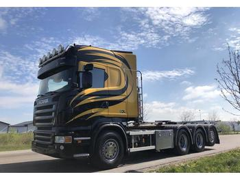 Scania R 480  - ciężarówka hakowiec
