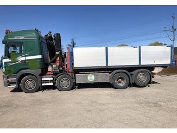 Scania R 480 LB  - ciężarówka hakowiec