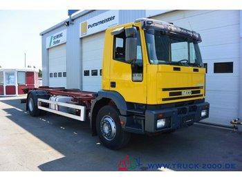 Iveco EuroTech 190E24 hydraulischer Hubrahmen TüV 8/20 - ciężarówka kontenerowiec/ system wymienny