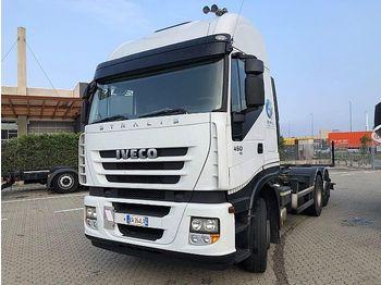 Ciężarówka kontenerowiec/ system wymienny Iveco Stralis AS 450: zdjęcie 1