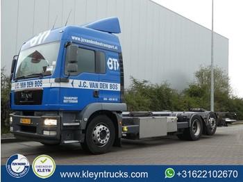 Ciężarówka kontenerowiec/ system wymienny MAN 26.290 TGM lx 6x2*4 manual eev