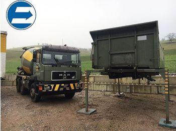 Ciężarówka kontenerowiec/ system wymienny MAN 26.422 DF Wechselsystem MISCHER - KIPPER: zdjęcie 1