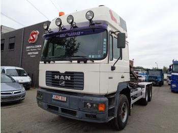Ciężarówka kontenerowiec/ system wymienny MAN 33.464 lames/steel 6x4 Commander XT: zdjęcie 1