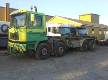 Ciężarówka kontenerowiec/ system wymienny MAN 35464 Abrollkipper 8x4 Manual Springs