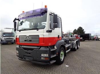 Ciężarówka kontenerowiec/ system wymienny MAN TGA 26.340 6X4 + MANUAL + CAMERA + SPECIAL HOOKSYSTEM