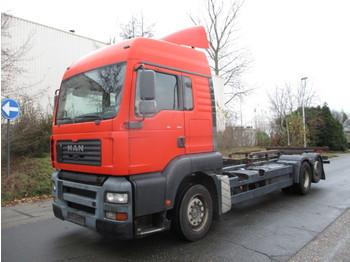 Ciężarówka kontenerowiec/ system wymienny MAN TGA 26-360