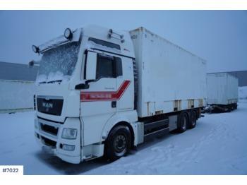 Ciężarówka kontenerowiec/ system wymienny MAN TGX26.480