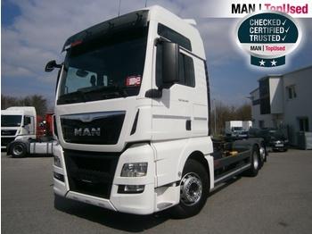 MAN TGX 26.440 6X2-2 LL mit LBW - ciężarówka kontenerowiec/ system wymienny