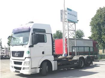 Ciężarówka kontenerowiec/ system wymienny MAN - TGX 26.440 FLLNR