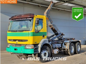 Renault Kerax 420 6X4 Manual Big-Axle Steelsuspension Euro 3 - ciężarówka kontenerowiec/ system wymienny