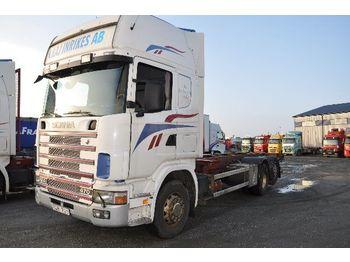 SCANIA 124 470 - ciężarówka kontenerowiec/ system wymienny