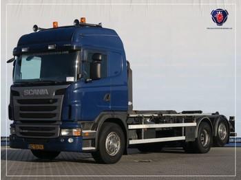 Ciężarówka kontenerowiec/ system wymienny Scania G400 LB6X2MNA   HOOKLIFT SYSTEM   ABROLLKIPPER   VDL HAAKARM