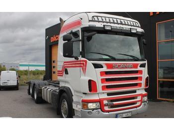 Scania R500LB6X2HNB Euro 5  - ciężarówka kontenerowiec/ system wymienny