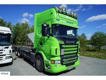 Scania R560 - ciężarówka kontenerowiec/ system wymienny
