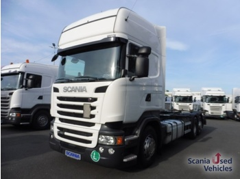 Scania R 450 LB6X2MNB - SCR Only - ciężarówka kontenerowiec/ system wymienny