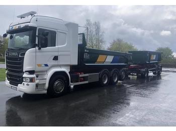 Scania R 580  - ciężarówka kontenerowiec/ system wymienny