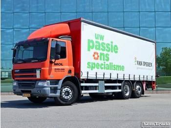 DAF FAN CF 75.310 EURO 5 SCHUIFZEIL KOOI AAP - ciężarówka plandeka