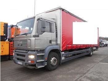 MAN TGA 18.320 - ciężarówka plandeka