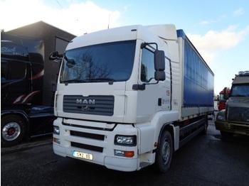 Ciężarówka plandeka MAN TGA 18.320 Lx