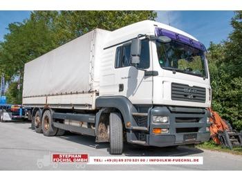 MAN TGA  26.440 6x2-2 LL Pritsche Plane m. LBW EURO4 - ciężarówka plandeka