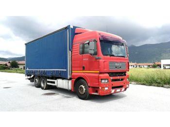 Ciężarówka plandeka MAN TGA 26.480