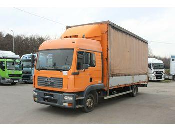 MAN TGL 12.210 4X2 BL  - ciężarówka plandeka