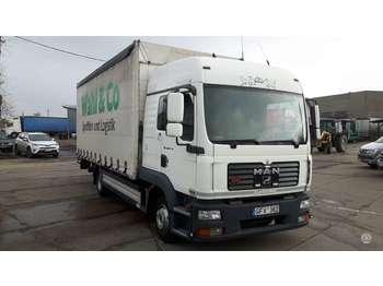 MAN TGL 8.210  - ciężarówka plandeka